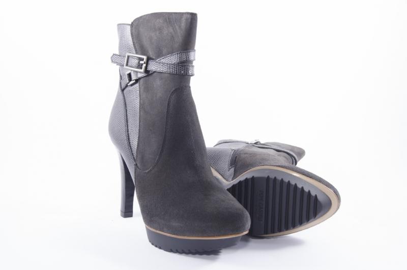 thick heel alligator ankle boots shoe size 35 milvara p