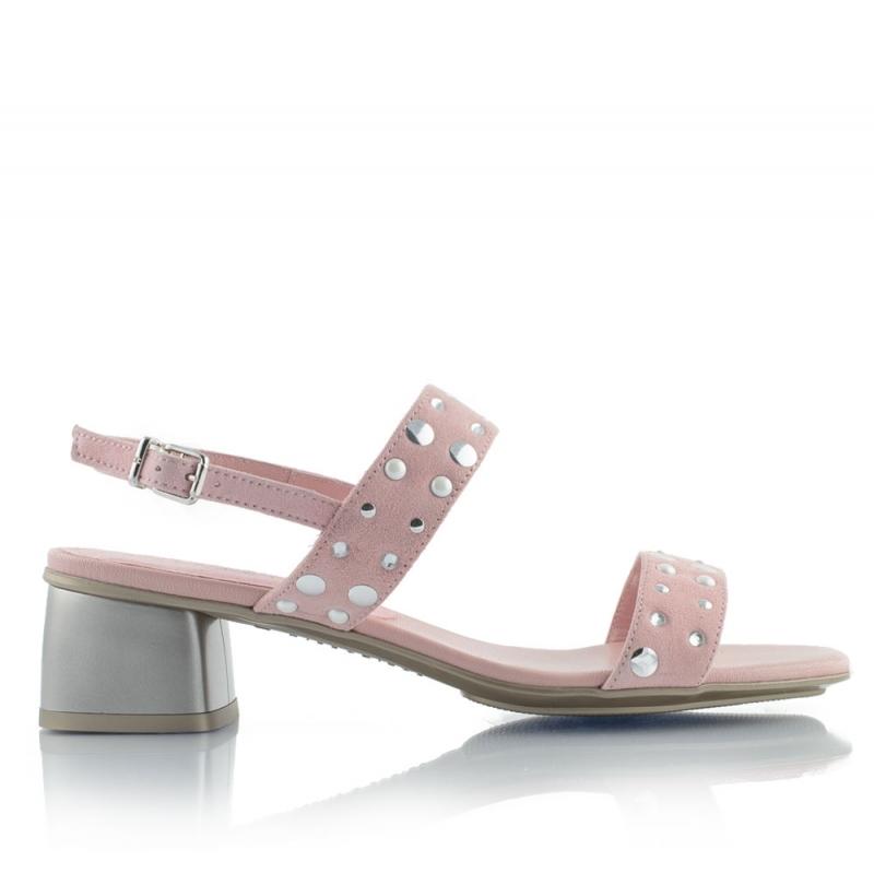 8b475c24cbf Nougat leather sandals ...