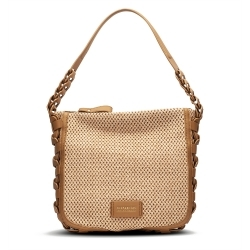 White leather bag Hispanitas