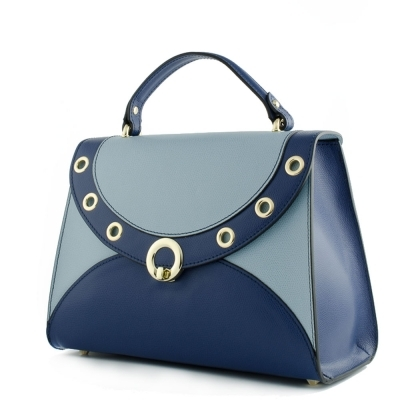 Colourful leather bag