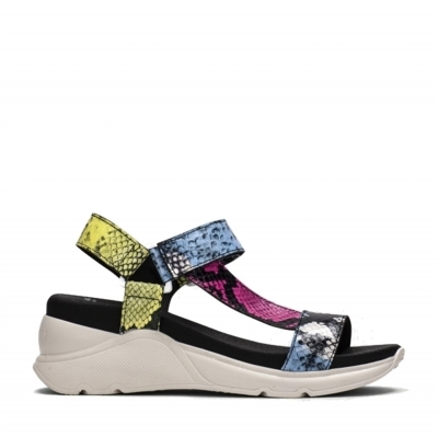 Flat Sandal Berlin Multi Hispanitas