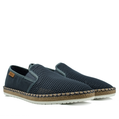 Perforated espadrilles Blue Rieker