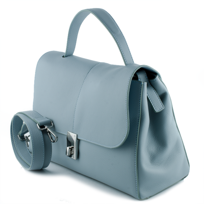Colourful leather bag Tosca Blu