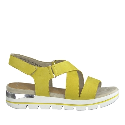 Flat Sandal Hispanitas Yellow