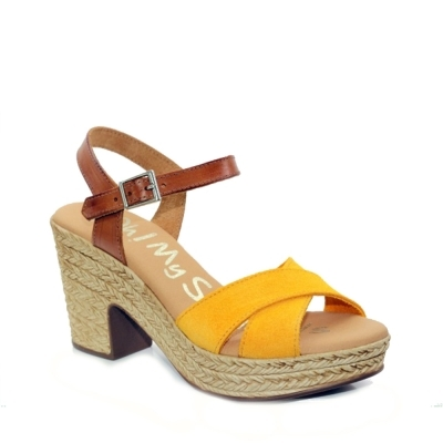Flat Sandal Oh My Sandals Yellow
