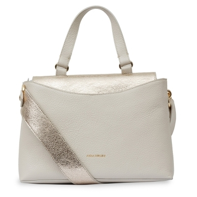 Leather bag Anna Virgili