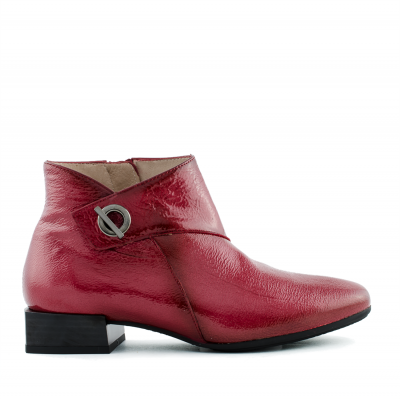 Red ankle boots Hispanitas