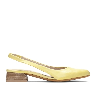 Yellow suede shoes Hispanitas