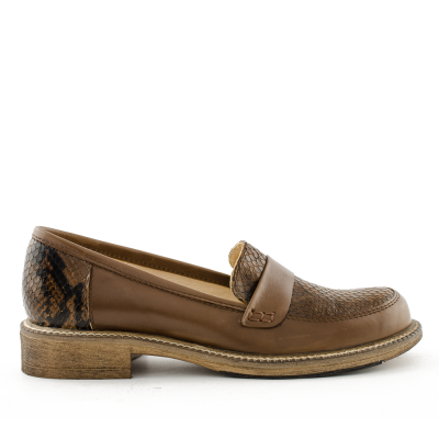 Brown mocassins Janet